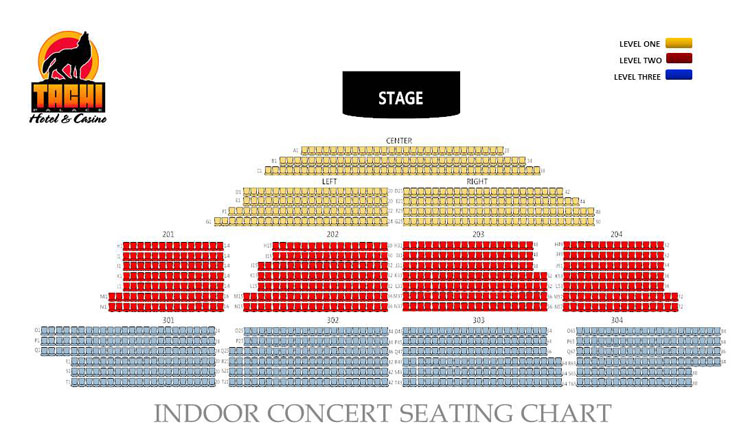 Venue Seating Charts Tachi Palace Hotel Amp Casino In