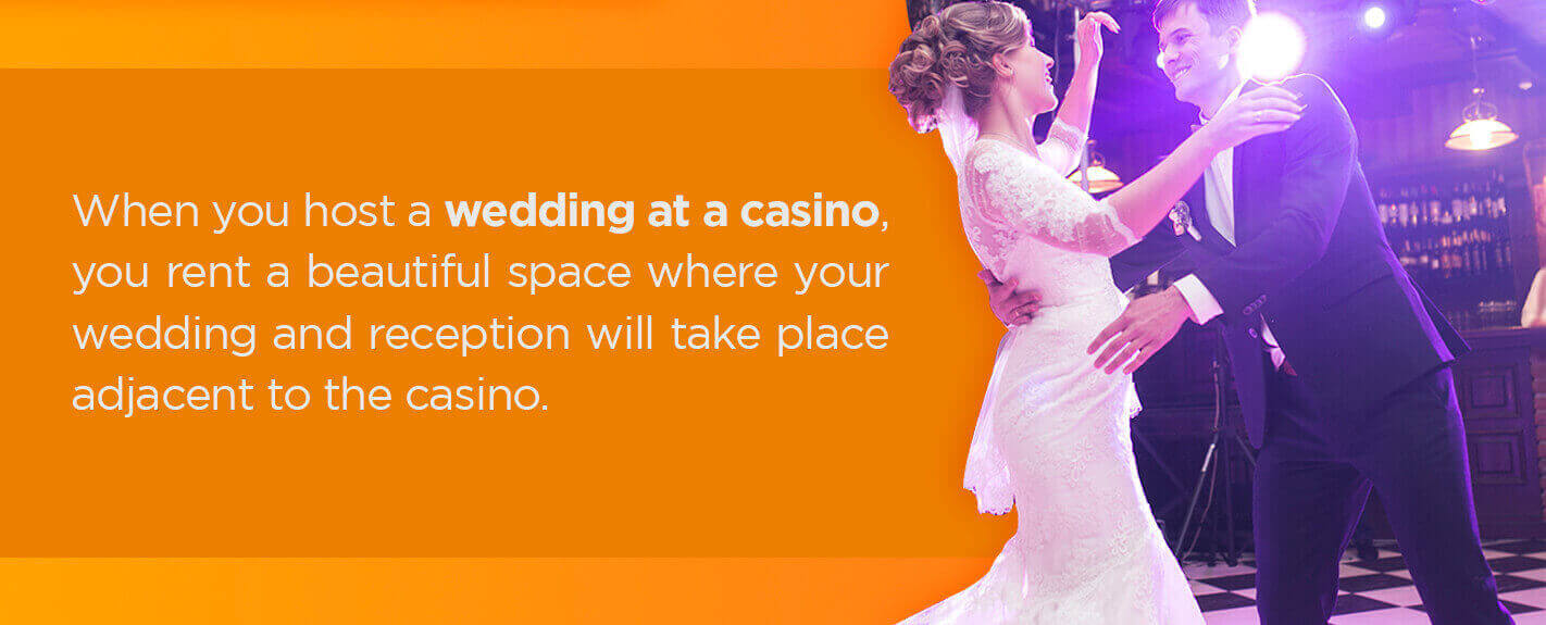 wedding at a casino