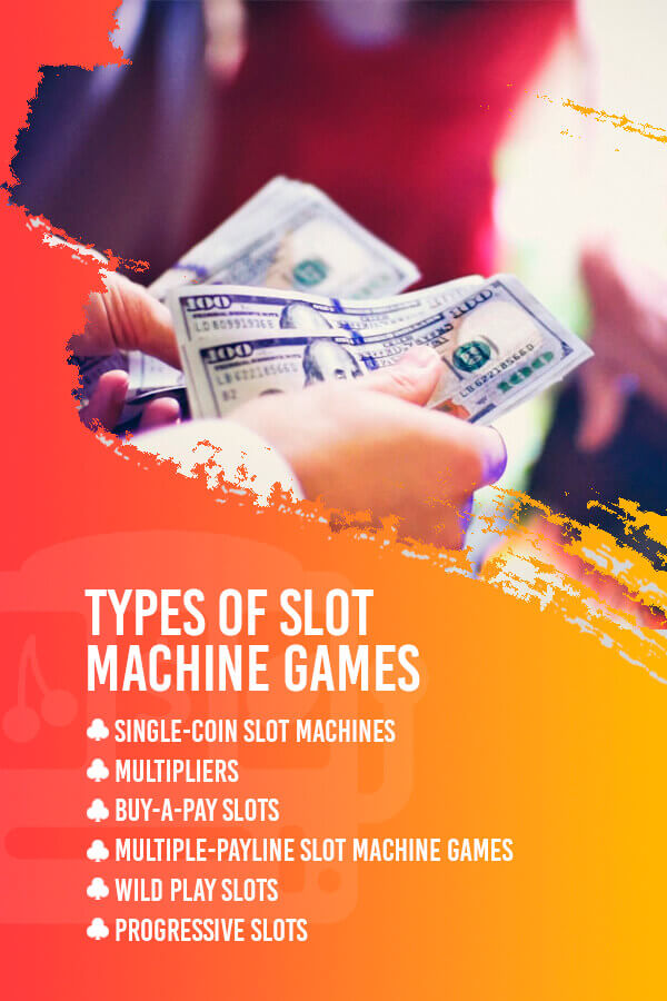 types of slot machine games